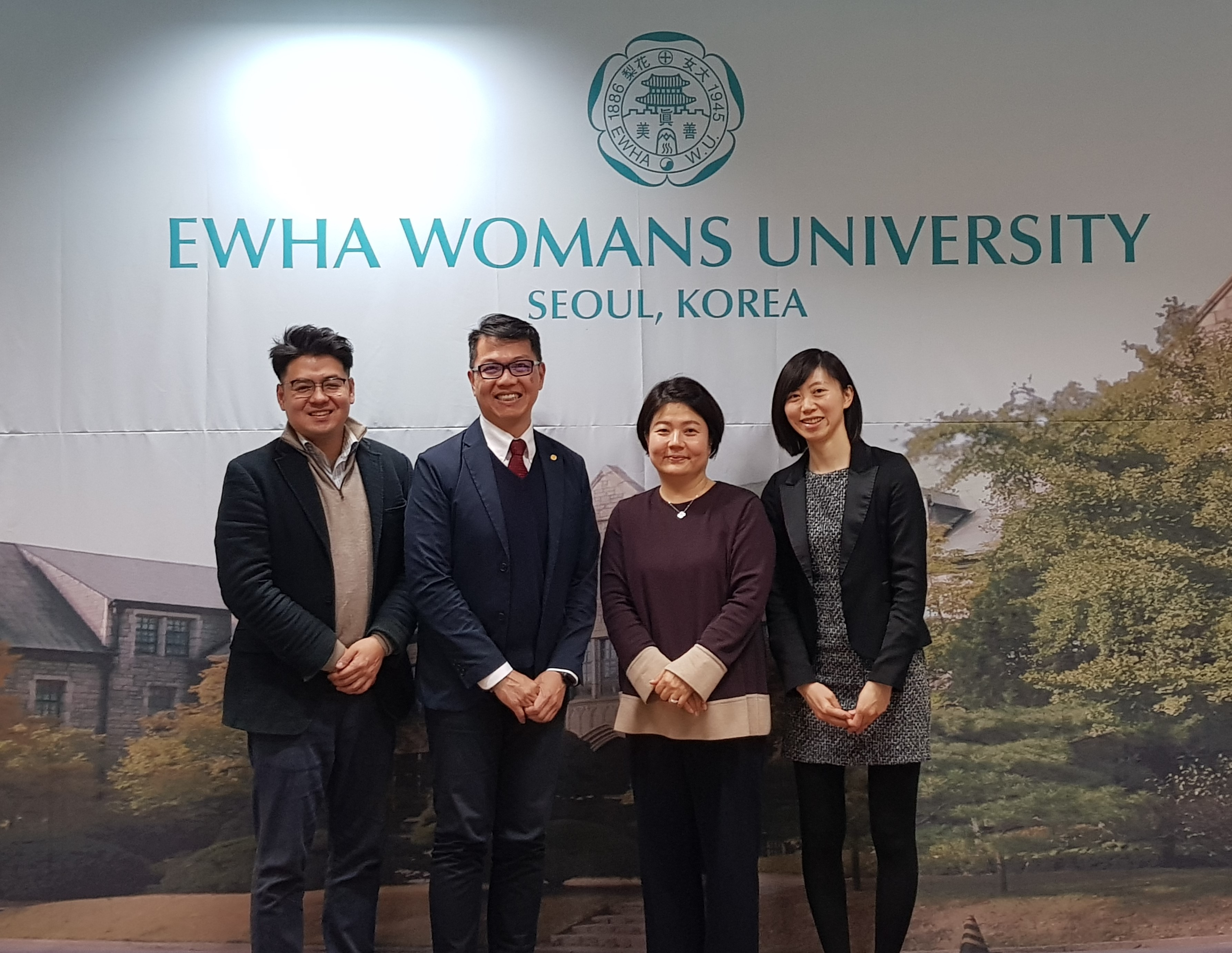 Delegation from Taipei Mission in Seoul visits Ewha OIA 대표이미지