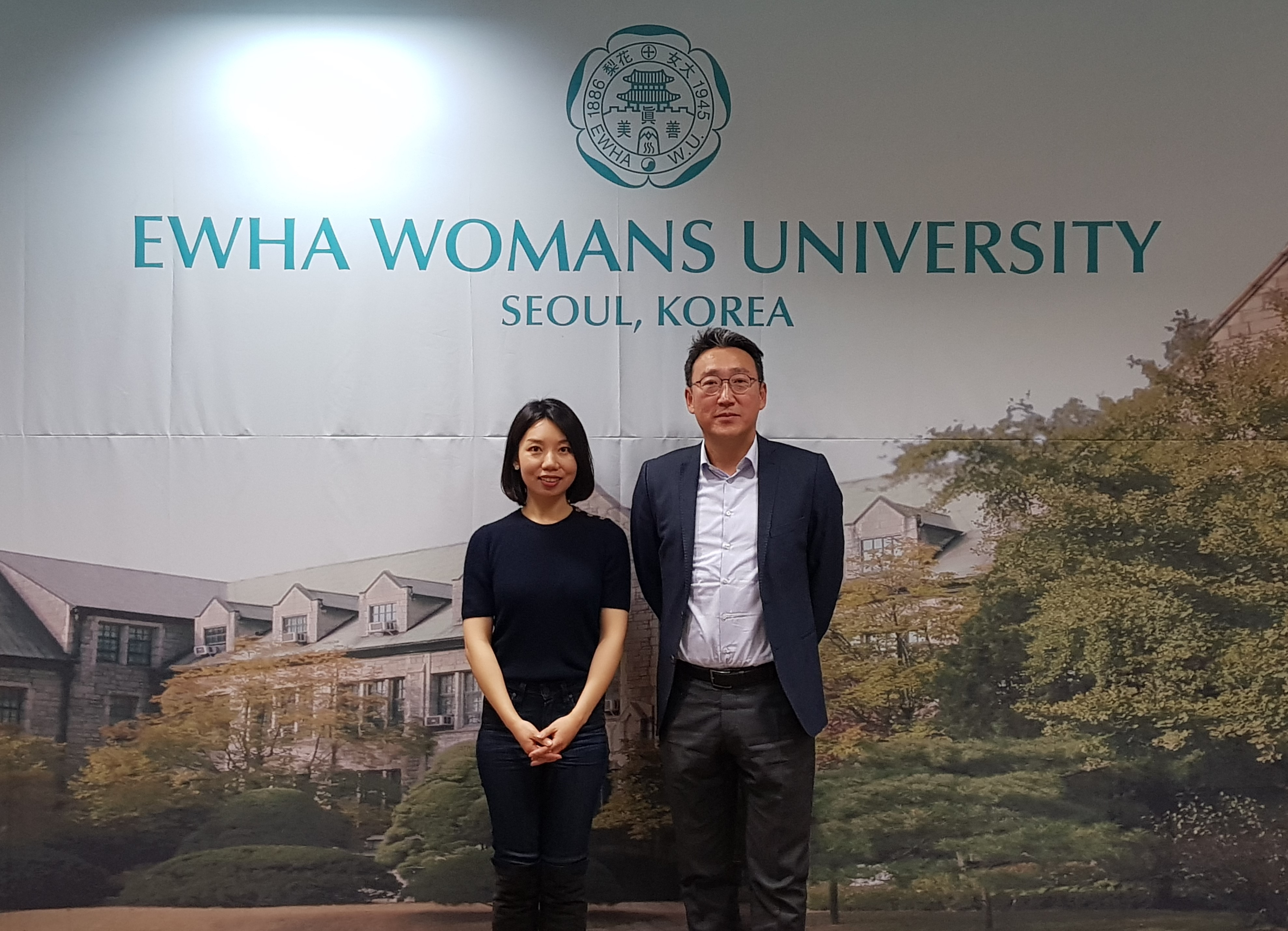 Communication University of China, Nanjing visits Ewha OIA 대표이미지